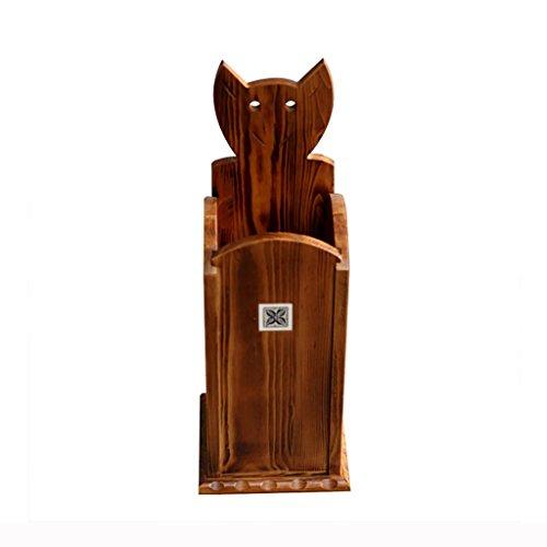 Wghz Traditionelle Stil Holz Kiefer Spazierstock \u0026 Schirmständer, Platz 23 * 23 * 64 cm Aufbewahrungshalter -