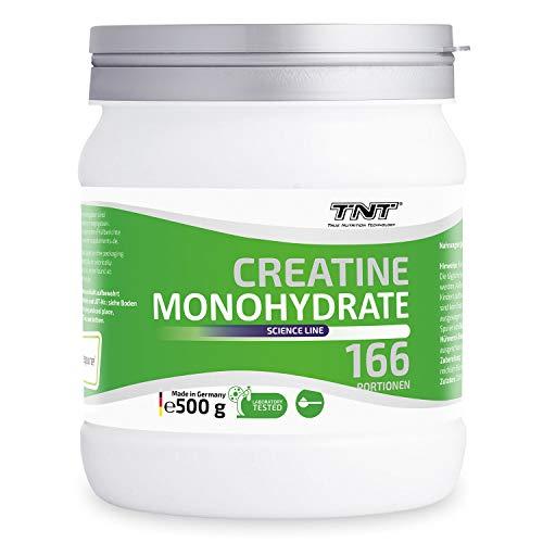 Creatin Monohydrat Pulver - Reines hochwertiges Creapure Kreatin Pulver - Creatine 500g NEUTRAL -