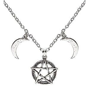 WIDMANN Collar medallón mágico adulto