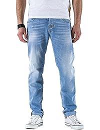 Meltin'Pot - Jeans RAF D0120-UB579 para hombre, estilo recto, ajuste regular, talle media