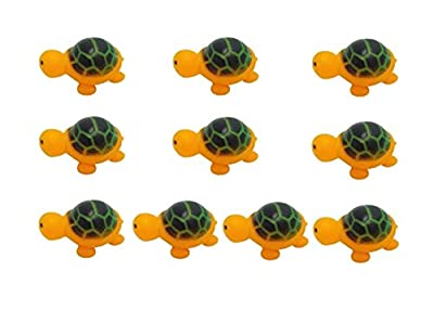 SanWay Swimming Rubber Squeeze Squeak Baby Kids Children Bath Toys-10 PACK by SanWay