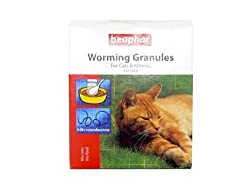 (3 Pack) Beaphar - Worming Granules For Cats