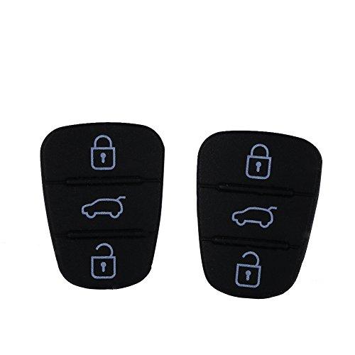 Qiilu Carcasa Case Funda Llave Remoto de Mando Coche para Hyundai I10 I20