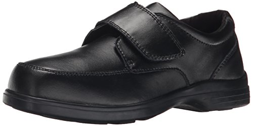 Hush Puppies Gavin Uniform Dress Shoe (Toddler/Little Kid/Big Kid), Black, 5.5 W US Big Kid (Hush Puppies Uniform Schuhe)