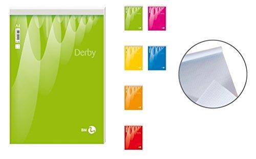 Block Notes Derby Plus A4 70 Fogli Bianco- Confezione da 10