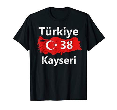 Türkei 38 Kayseri T-Shirt Ayyildiz Türkiye Tshirt Geschenk (Shirts Türkei)