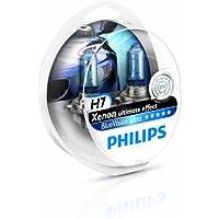 Philips 12972BVUSM BlueVision Ultra - Bombilla H7 para faros delanteros (2 unidades)
