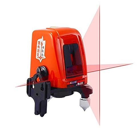 AK435 Niveau laser 2lignes rotatives 360 1V1H Croix horizontale et verticale