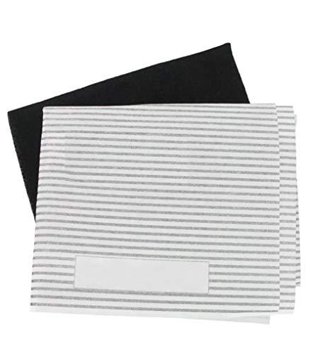 Kit universal de filtros de grasa y carbón para campana extractora de...