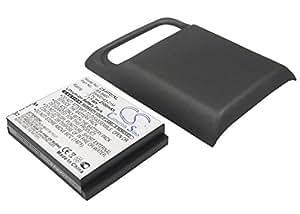 Extended batterie pour HTC 35H00154-04M BA S460 BD29100 3.7V 2100mAh