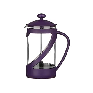 Piccola Small Kenya Cafetiere Made Of Purple Plastic With Heat Resistant Glass Insert by acropolebits