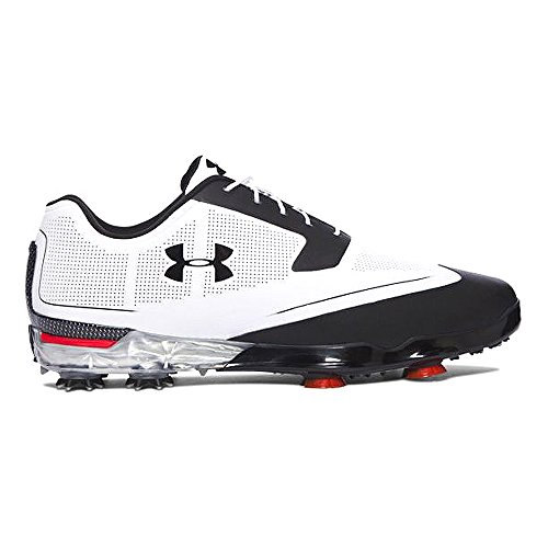 Under Armour 2017 da uomo UA Tour punte scarpe da golf White/Black