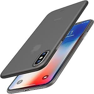 Coque iPhone X, TOZO Housse PP Ultra Mince [0.35mm] Le Plus Mince du Monde de Protection Rigide