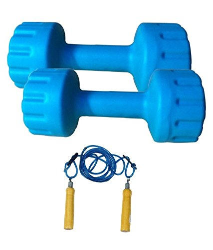 AURION-PVC-DUMBBELL-SET-OF-6-KG-3-KG-X-2-PERFECT-HOME-GYM-AND-FITNESS-WITH-SKIPPING-ROPE