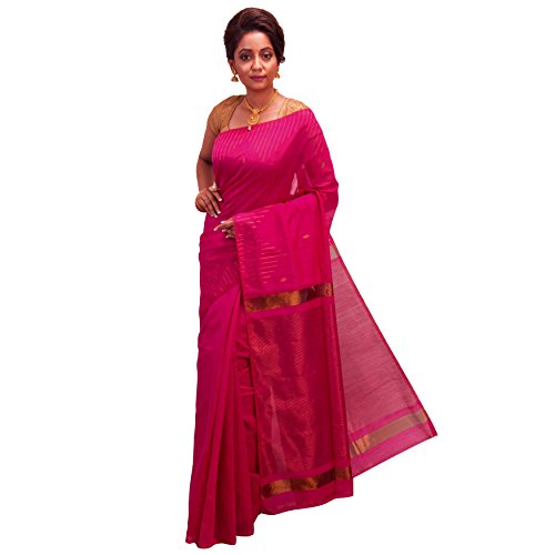 Avik Creations Latest Design Embroidered Traditional Solid Woven Designer Silk Cotton Hand...