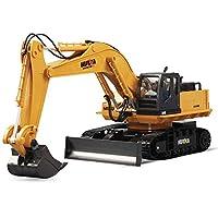 """●  Perché scegliere i nostri prodotti  """"Design e qualità"""" Design affidabile e duraturo: il trattore funziona con un telecomando wireless! Ti regalerà circa 30 minuti di divertimento. Il fatto che questo giocattolo per escavatore RC funzioni davvero c..."""