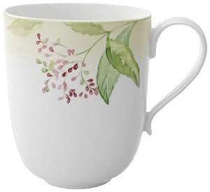 villeroy boch green garland latte macchiato becher 0 48 l k che haushalt. Black Bedroom Furniture Sets. Home Design Ideas