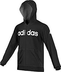 Adidas Essentials Linear Men's Hooded Jacket, Men, Essentials Linear Kapuzenjacke, Black, Xl