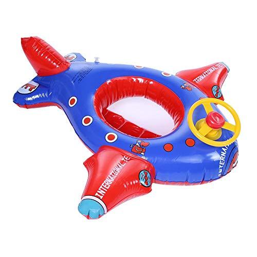 Idalinya Aufblasbare Float Ring Baby Schwimmring Mit Pumpe Aufblasbare Flugzeug Baby Kind Kleinkind Baby Schwimmende Schwimmboot