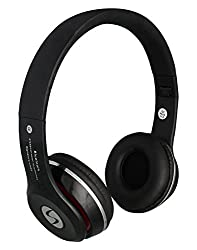 Lenovo VIBE K4 Note Compatible Signature Brand VMB-4 Model High Quality Stereo Bass Bluetooth Headphone Cum Bluetooth Headset With Call Functions And Mp3 Card Support For Iphone,Samsung,Nokia And All Other Smartphones (Black Color)