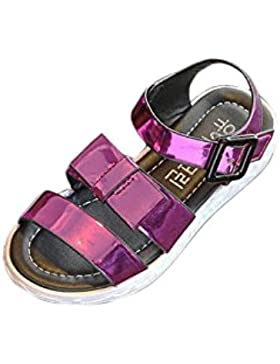 HCFKJ NiñOs PequeñOs Princesa Lentejuelas Zapatos Individuales De Verano NiñAs Sandalias