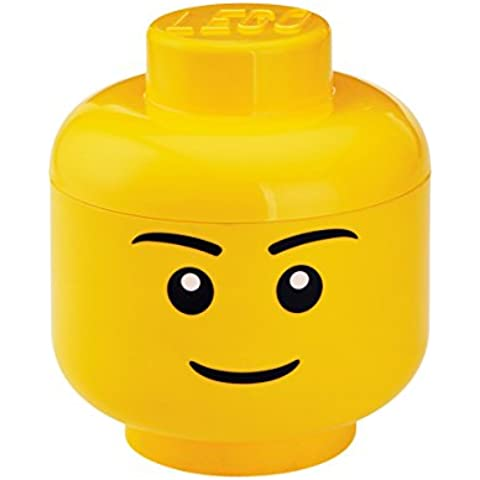 LEGO - Cabeza de chico para almacenaje (Room Copenhagen 40321732)