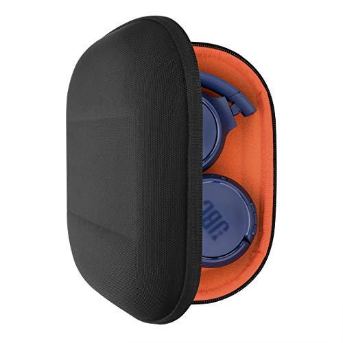 Geekria UltraShell - Funda para Auriculares JBL Tune 600 BTNC, Live 400BT, Tune 500BT, T450BT, E45BT y Mucho más, Funda Protectora rígida de Transporte con Espacio para Accesorios, Color Negro