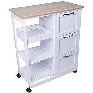 Küchenwagen günstig online kaufen   Dein Möbelhaus