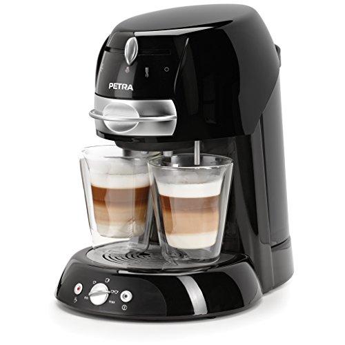 espresso padmaschine Petra Artenso latte KM 42.17 Kaffeepadmaschine (1600 Watt)