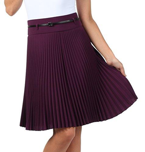 sakkas-falda-trapecio-para-mujer-morado-morado-x-large