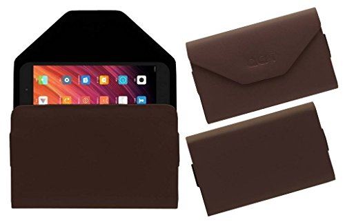 Acm Premium Pouch Case for Xiaomi mi-pad 3 Tablet Flip Flap Cover Brown  available at amazon for Rs.219