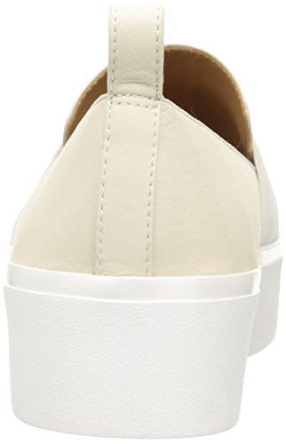 Calvin Klein Jacinta Cervo/Elastic, Chaussons Montants Femme Blanc (Soft White)