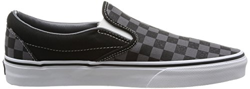 Vans U Classic Slip-on, Sneakers basses mixte adulte Noir (Black/Pewter)