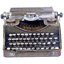Modelo De La Máquina De Escribir De Hierro, Decoraciones Caseras Retra De Los Apoyos De