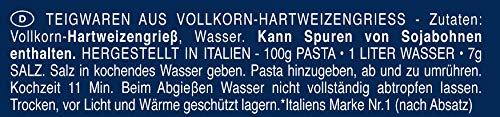 Barilla Vollkorn Pasta Fusilli Integrale – 1er Pack (1x500g) - 3
