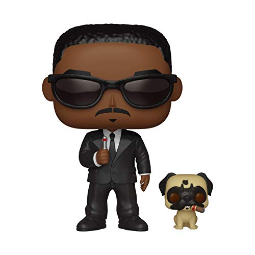 Funko-  Pop & Buddy Vinilo Men In Black Agent J & Frank Figura Coleccionable,  (37664)
