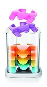 Tescoma MyDrink Clip Porta Calice da Piatto, Plastica, Multicolore, 6 Pezzi
