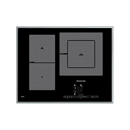 KitchenAid khip365510Plaque–Plaque (intégré, induction, Verre et Céramique, noir, bâton de déplacement, toucher,...