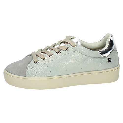 XTI , Chaussures de sport femme Argent