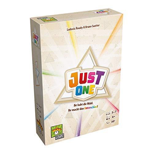 Asmodee RPOD0009 Just One, Grundspiel, Spiel des Jahres 2019