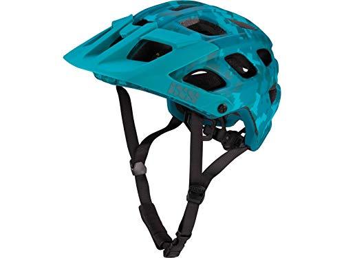 IXS Enduro-Helm Trail RS EVO Lagoon Camo Limitierte Edition XS/S 49-54cm -