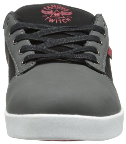 Etnies Twitch Fsas X Jefferson Grey/Black/Red Grigio (grigio)