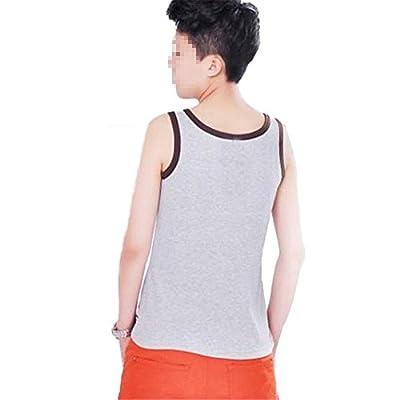 Breathable Womens Les Lesbian Tomboy Clothes Short Chest Binder Vest Tank Tops