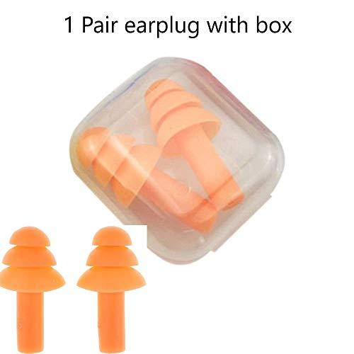 Noise Reduction Work Meditation Soft Foam Ear Plugs Sleep Travel Study