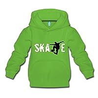 Skate Kids' Premium Hoodie by Spreadshirt®�??, 110/116 (5-6 years), light green