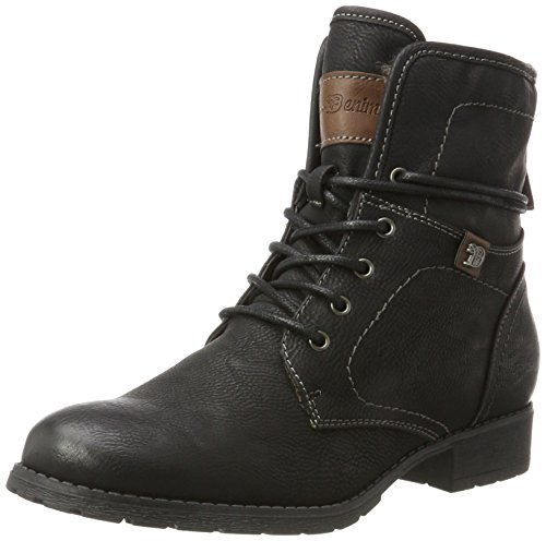 Tom Tailor Damen 3797302 Stiefel, Schwarz (Black), 39 EU