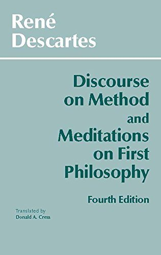 Discourse on Method and Meditations on First Philosophy (Hackett Classics) by Descartes, Rene (November 1, 1998) Paperback