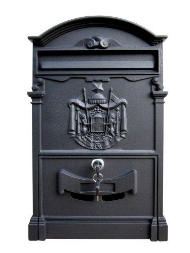 Domus 2151 cassetta postale, alluminio pressofuso, grigio antracite