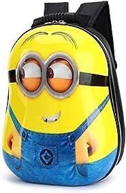 3D Cute Cartoon Printing Kids School Bag Backpacks Minion