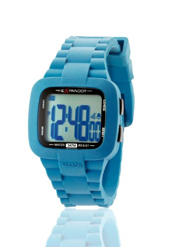 Sector Unisex Watch R3251472215 In Collection Street with Digital Display and Blue Strap